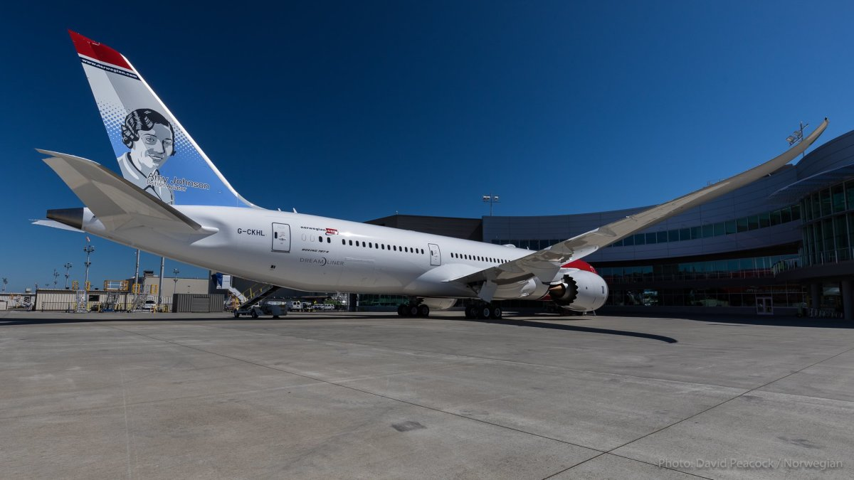 The record breaking 787 Dreamliner