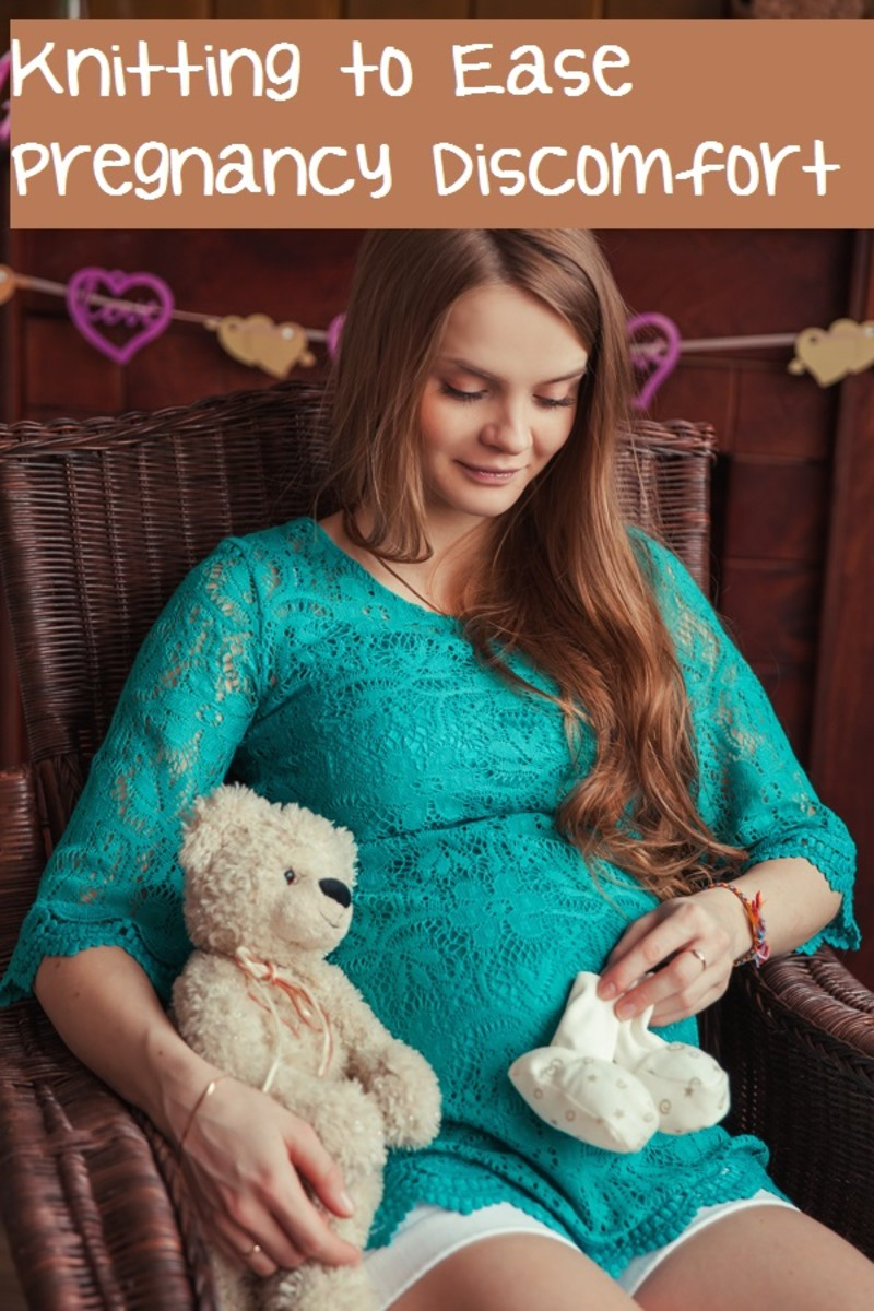 5 Ways Knitting Can Help with Pregnancy Discomfort