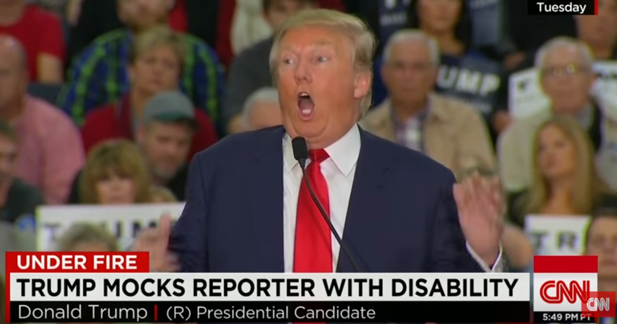 Mental Illness Apparently Plagues Donald Trump