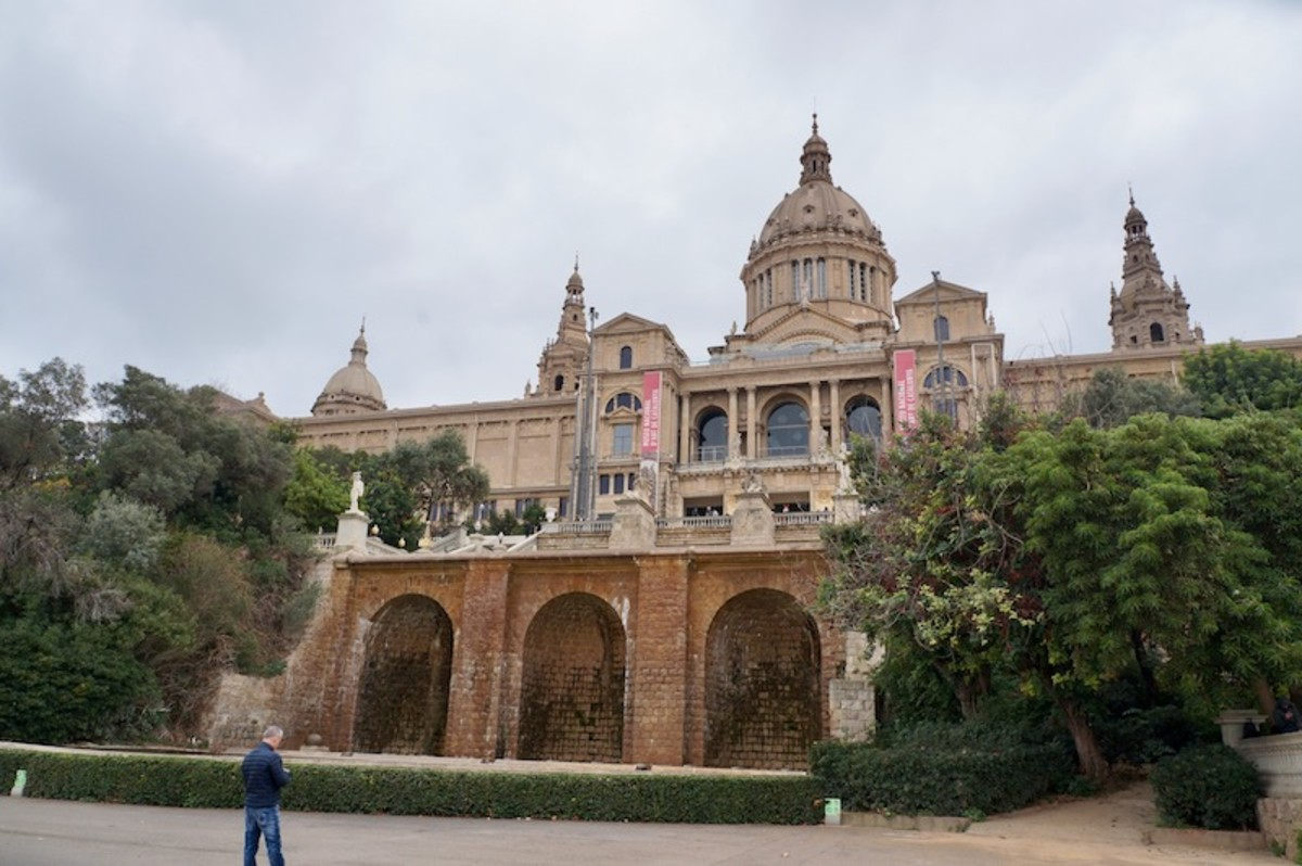Palau Nacional and the Museum of National Art of Barcelona