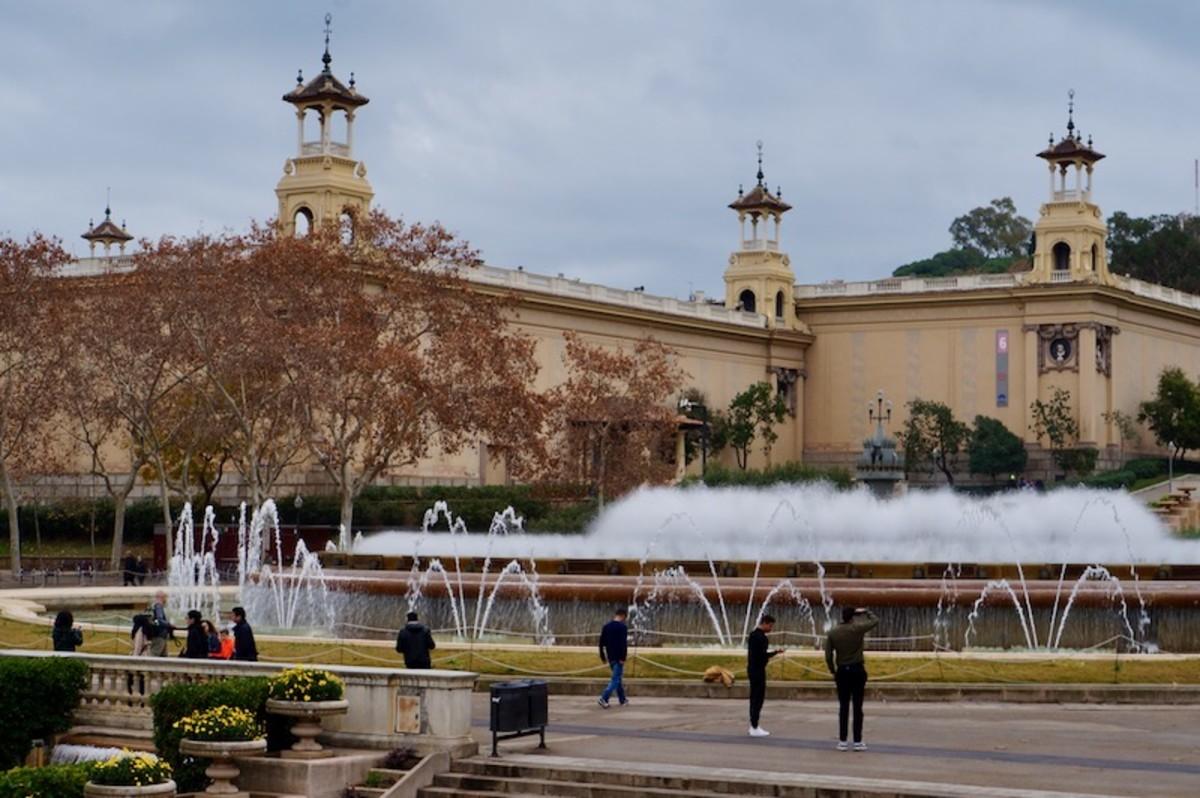 The Magic Fountain in Barcelona