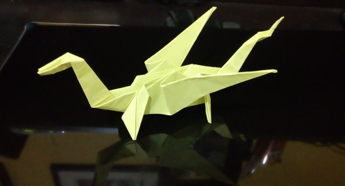 How to Make a Dragon Origami