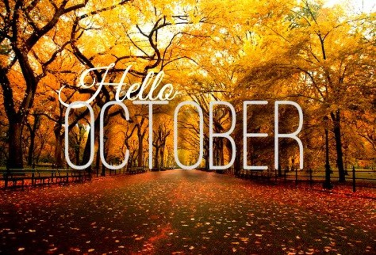 October: Interesting Things About the Month