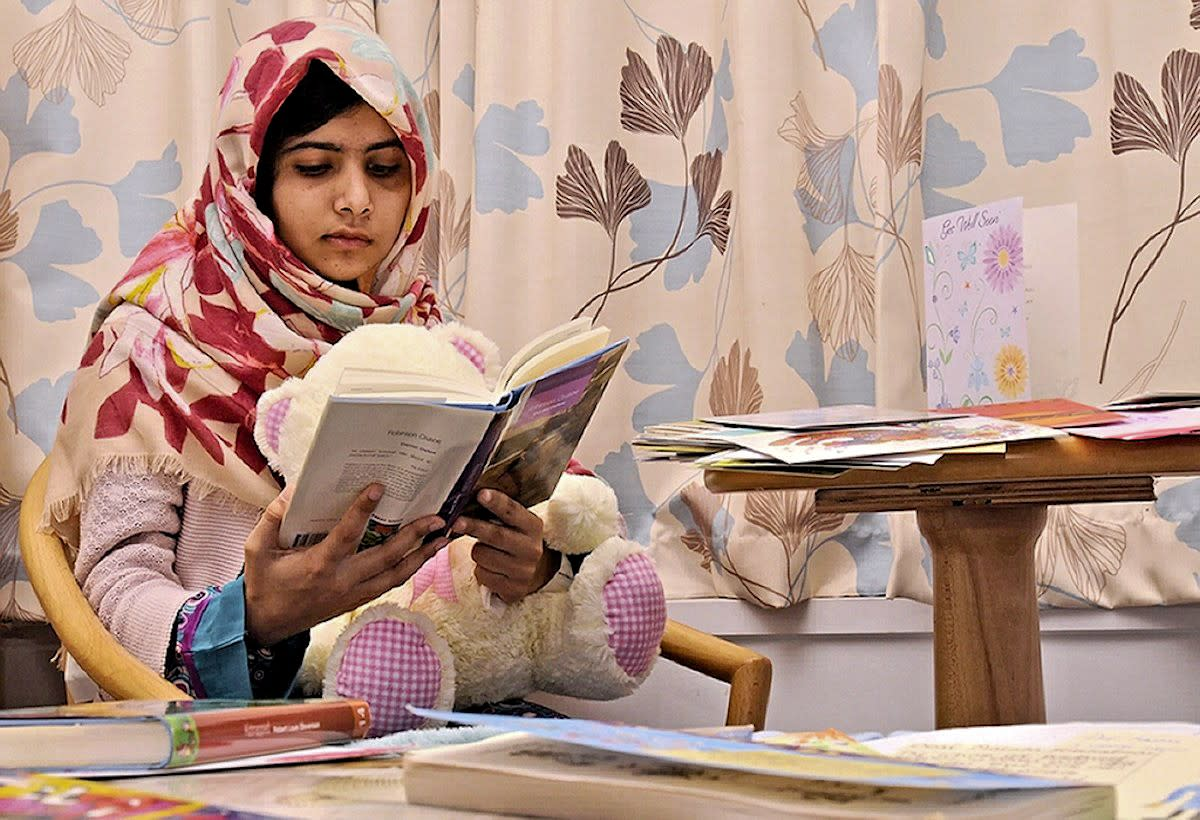 Malala Yousafzai at 11 years old