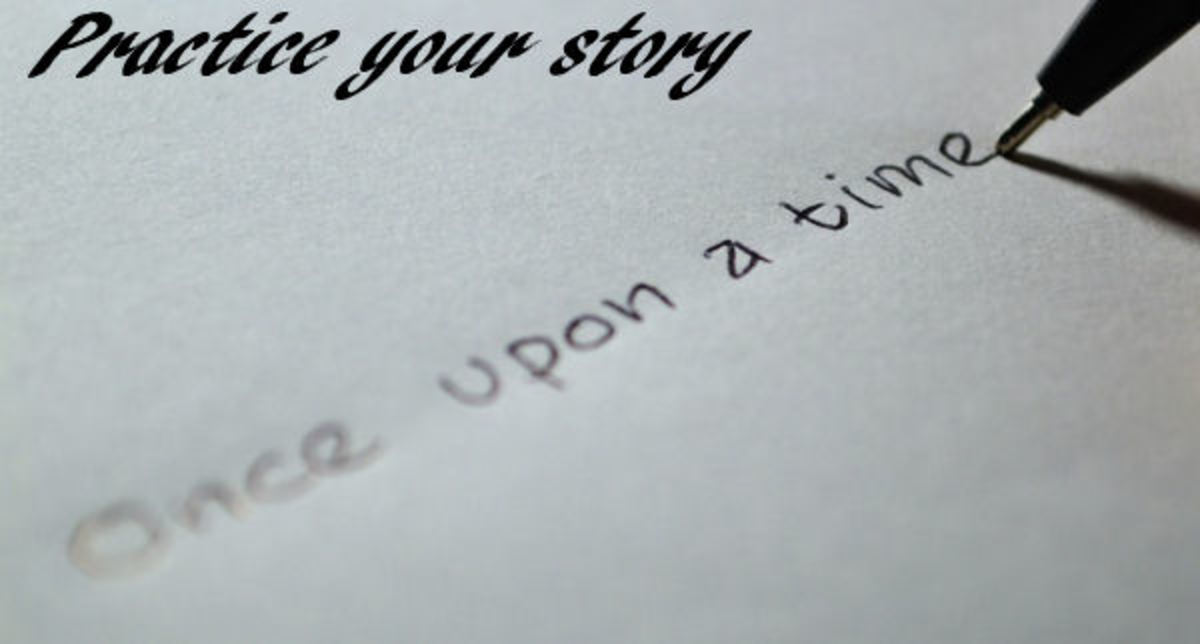 Practice your scary story