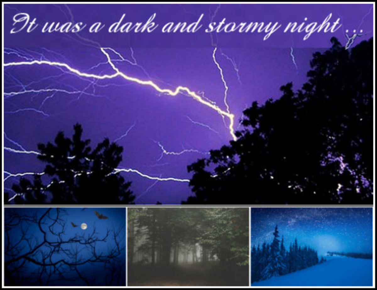 Dark Nights for Scary Stories