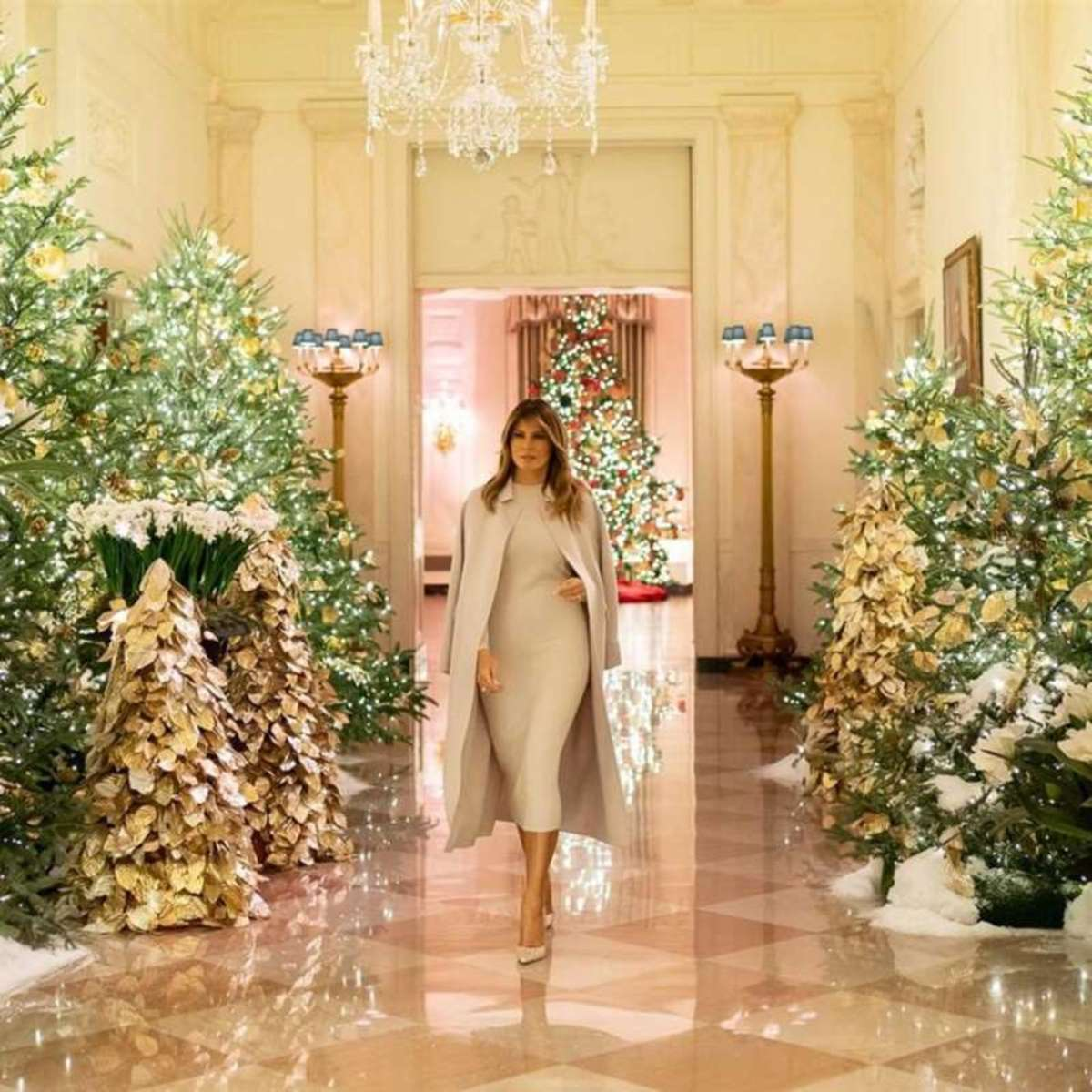 White House at Christmastime 2019