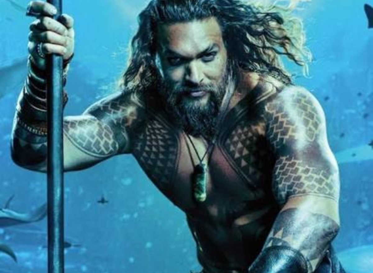 Jason Momoa as Aquaman: DC Entertainment