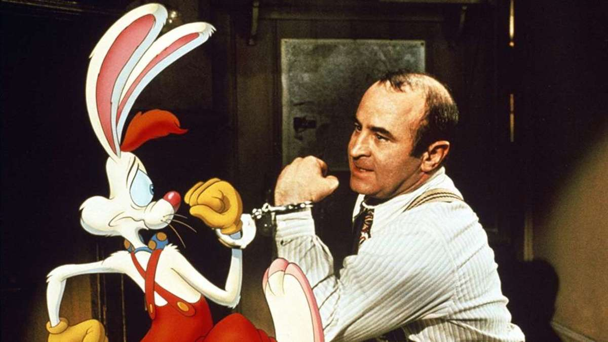 Amazing special effect on the movie Who Framed Roger Rabbit?
