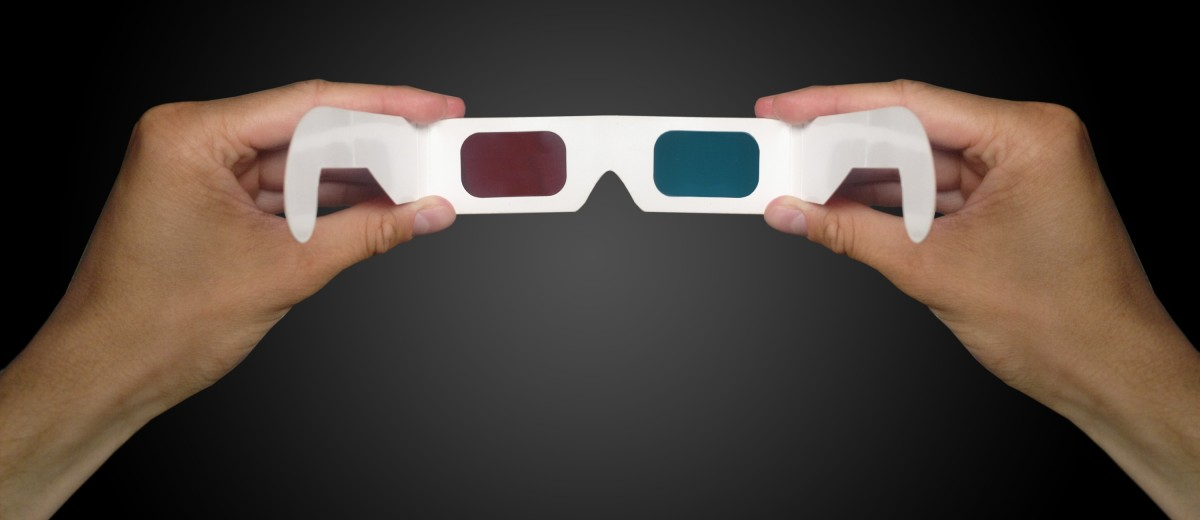 3-D special effect glasses