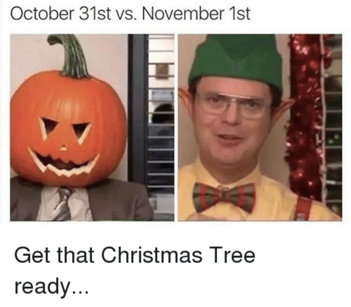 Christmas Halloween Thanksgiving Meme.10 Christmas Memes For The Holiday Season Hubpages