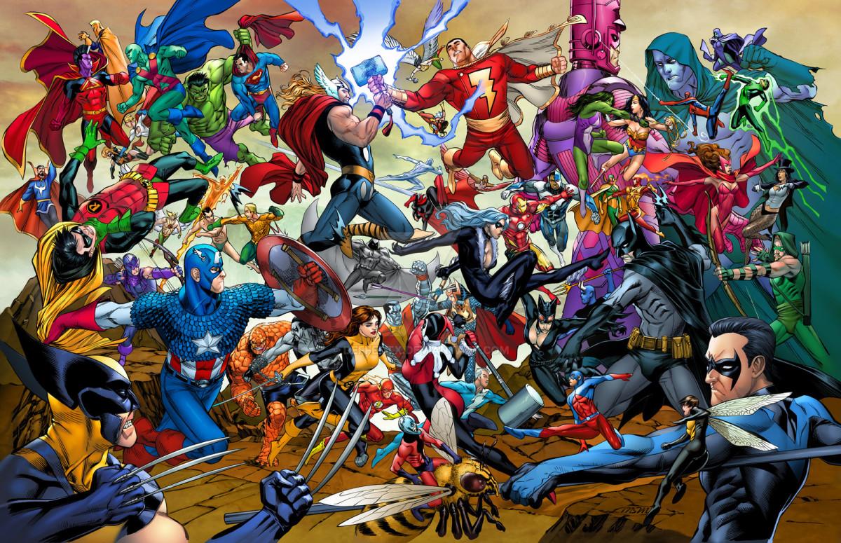 Marvel's Avengers Vs DC's Justice League