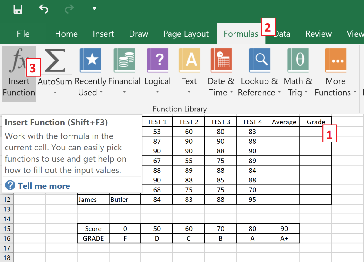 how-to-use-the-hlookup-function-in-ms-excel-2016