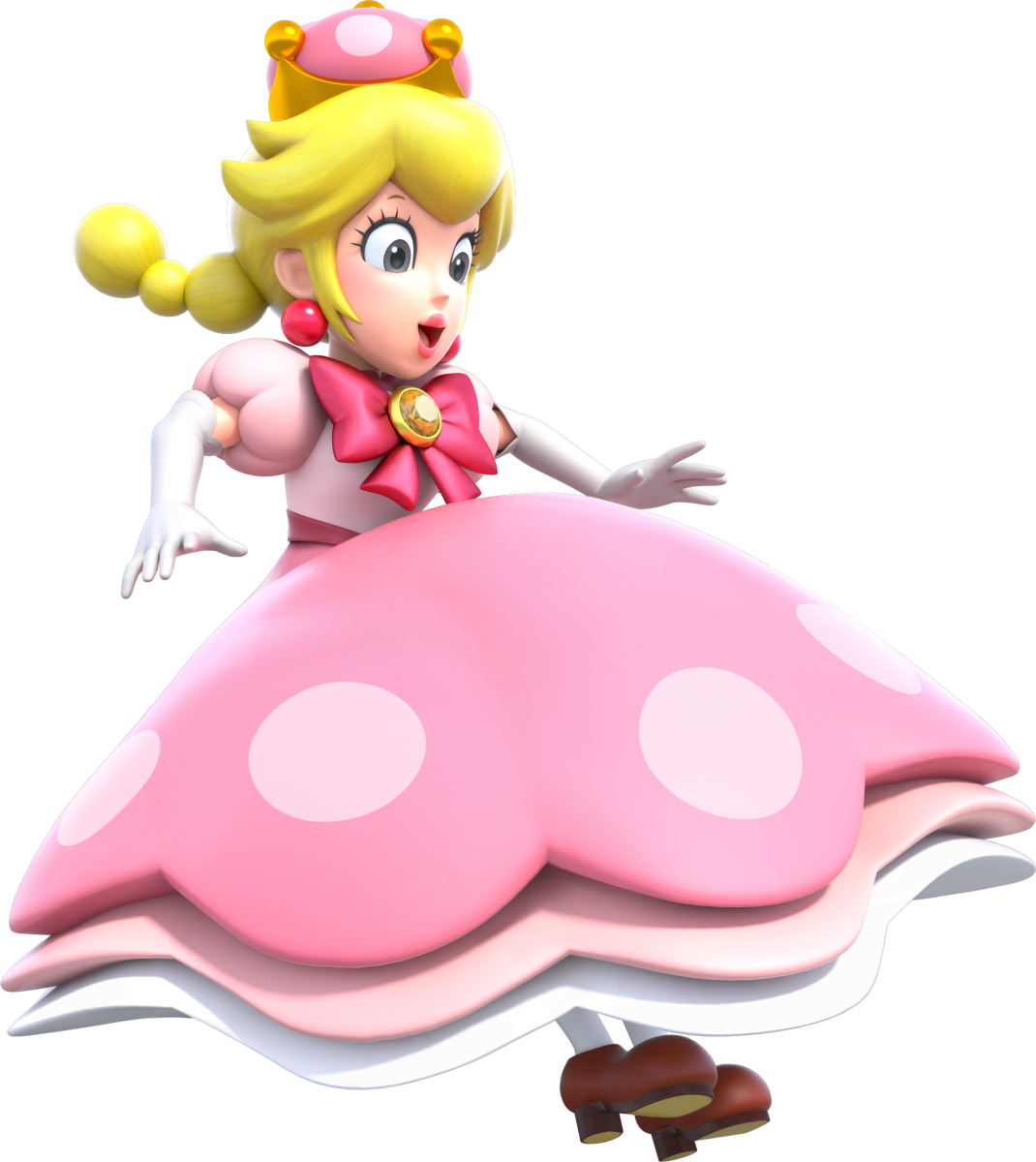 Does the Existence of Peachette Disprove the Mario Galaxy