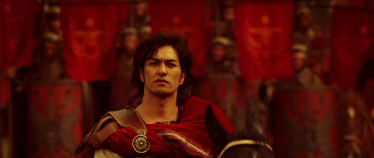 Kitamura Kazuki as Ceionius in Thermae Romae II