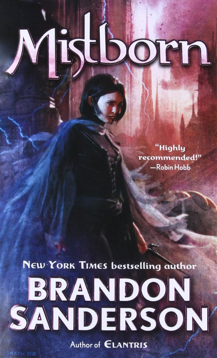 Cover of Mistborn, art by Christian McGrath.