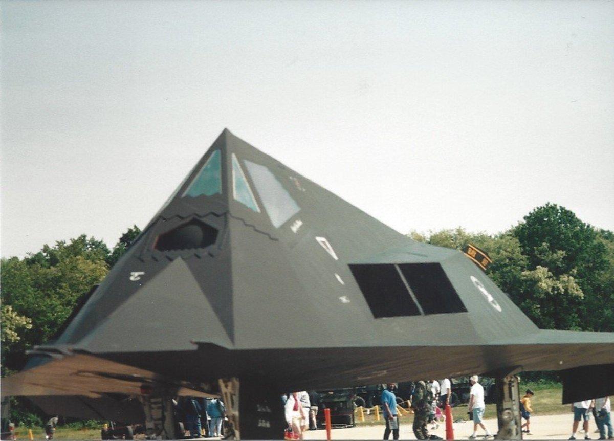 F-117, Andrews AFB