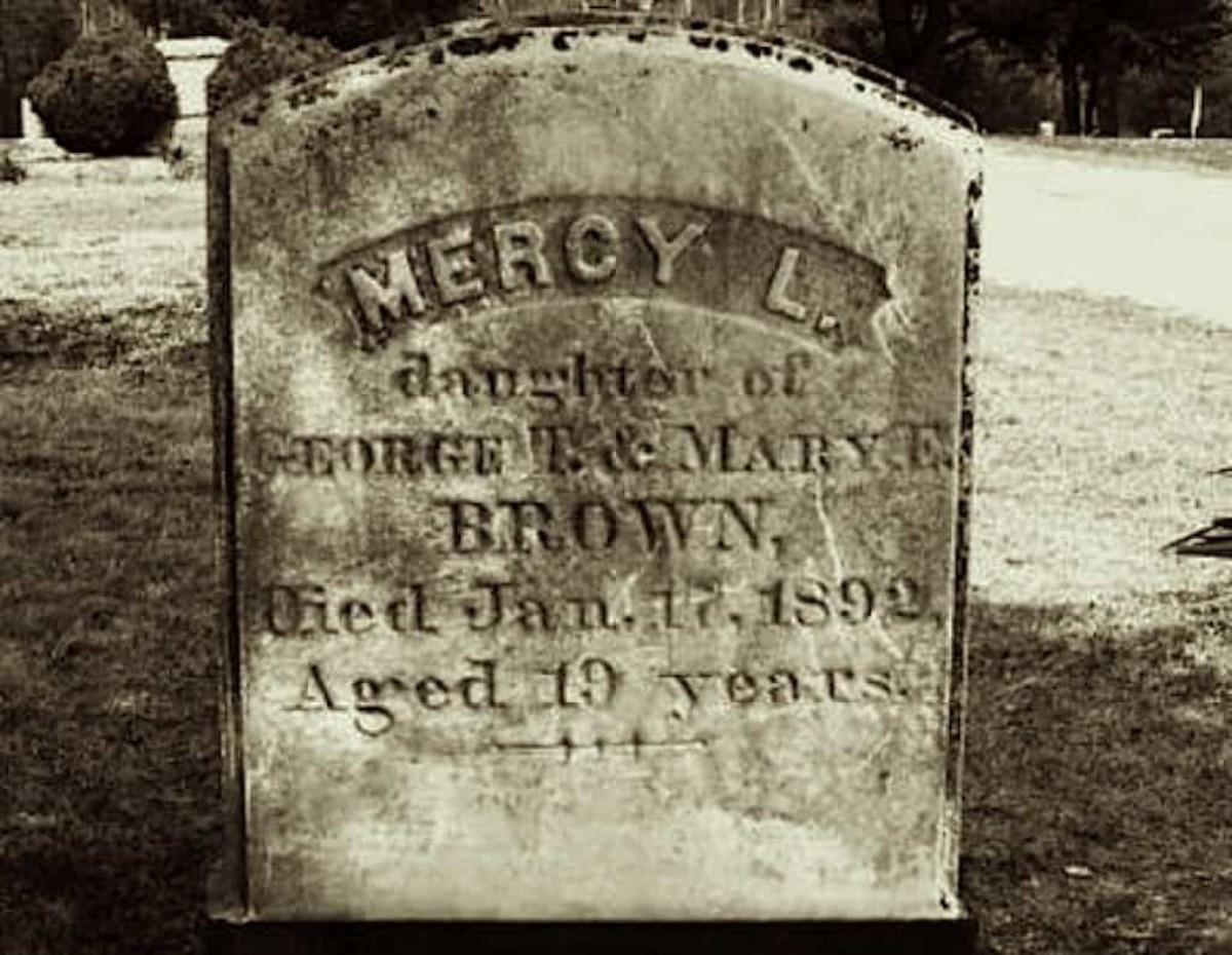 Legends and Lore: Mercy Brown, The Vampire of Rhode Island