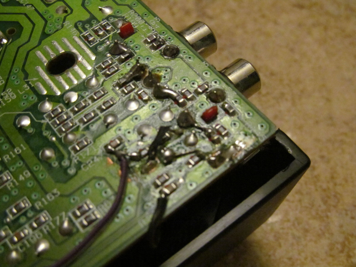 Very poorly attempt at a fix of a SP303 from Dalyn Sheppard