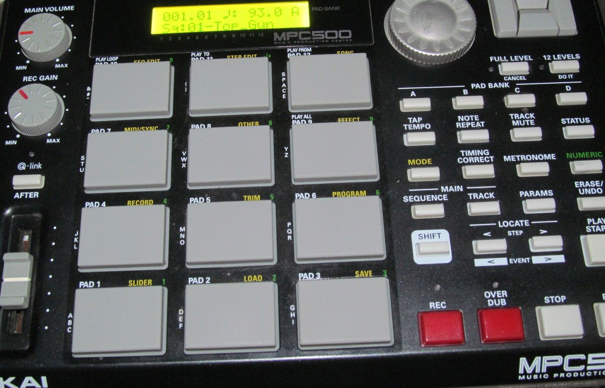 How to Replace Faulty Tact Buttons Switches on the Akai MPC-500