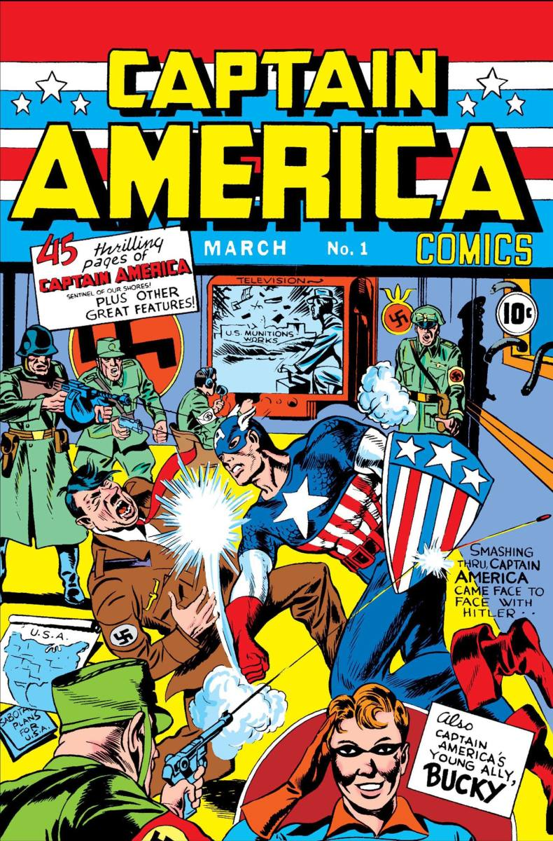 Captain America, the embodiment of all that is great about the USA.