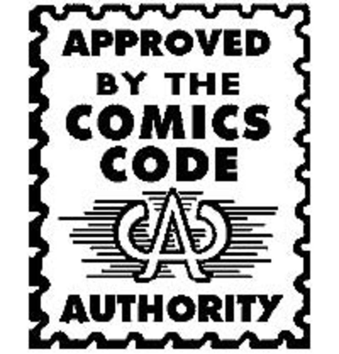 Comics Code Authority Seal.