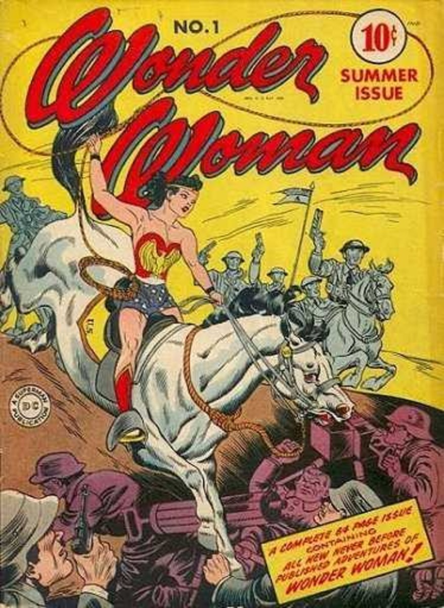 Hey #Comicsgate, Wonder Woman says you can kiss her horses' @$$!