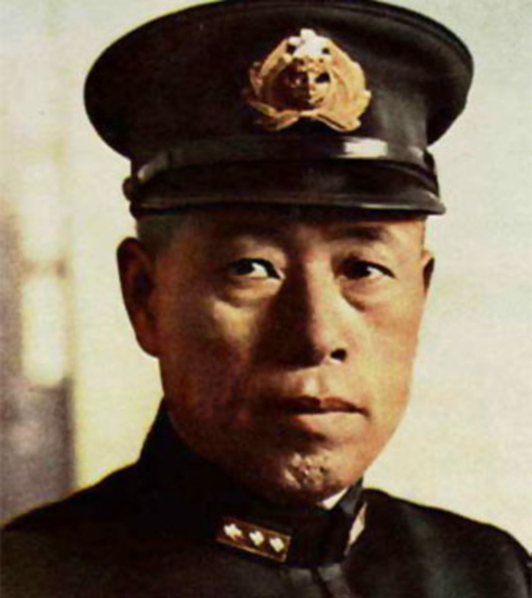 Admiral Isoroku Yamamoto, the brain behind the submarine carrier.
