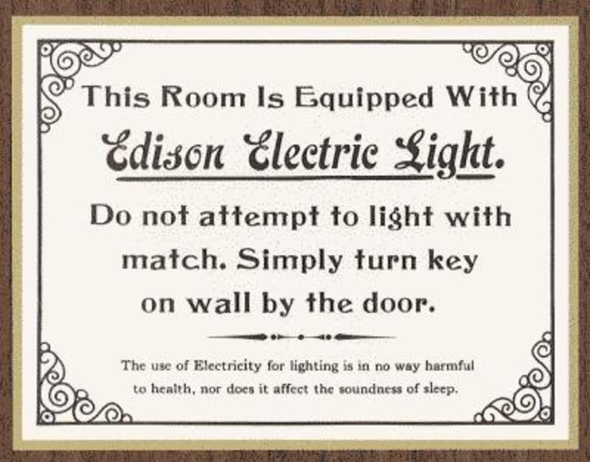 The Beginning of Electricity and Its Dangers