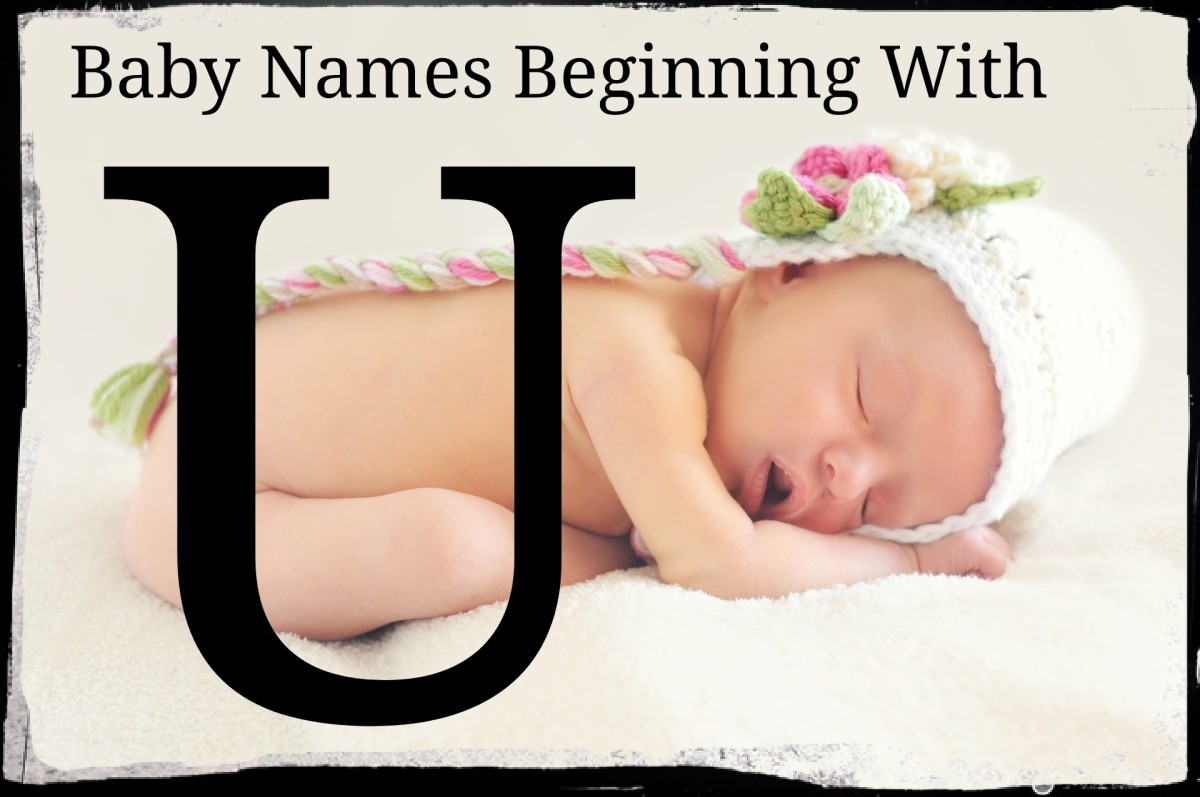 Baby Names Beginning With U