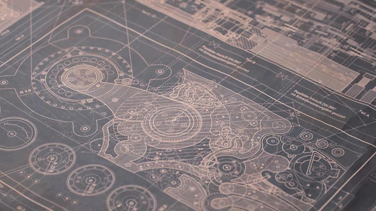 Blueprint of the time machine in 'Dark' (2017), a Netflix Original Series.