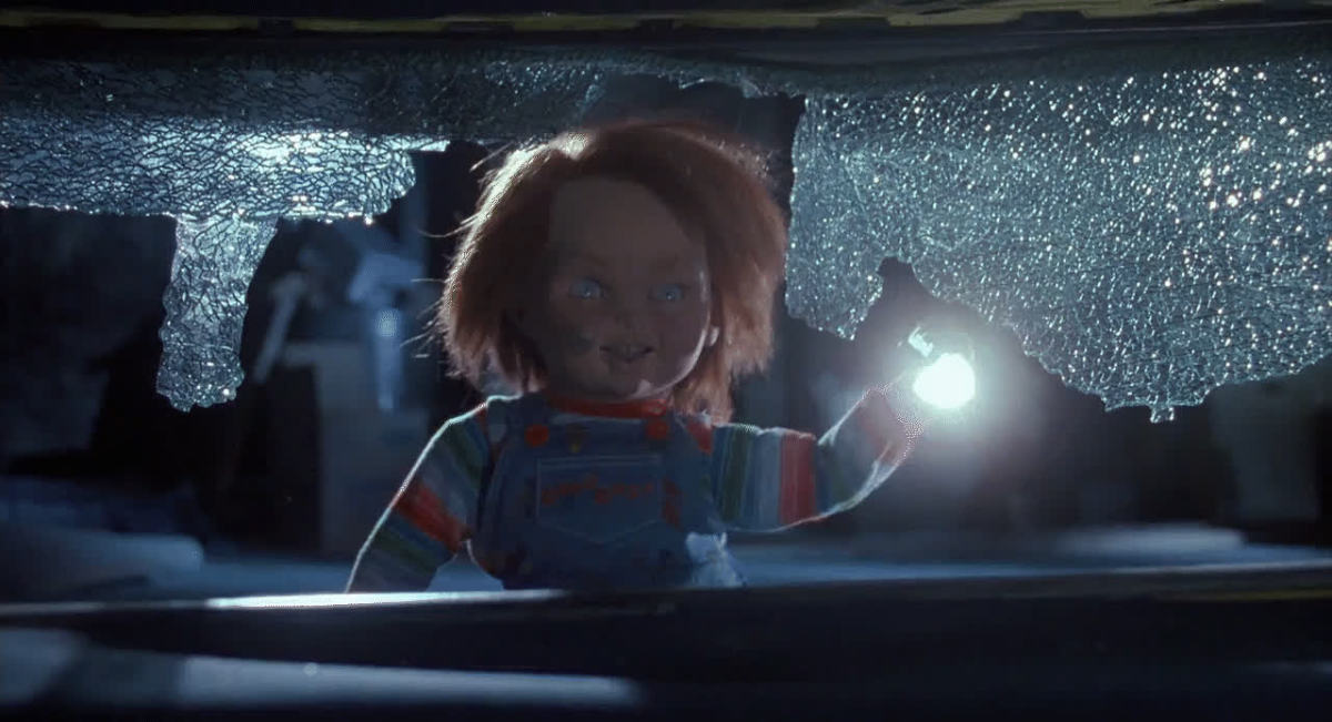 So convenient that there's a Chucky-sized flashlight