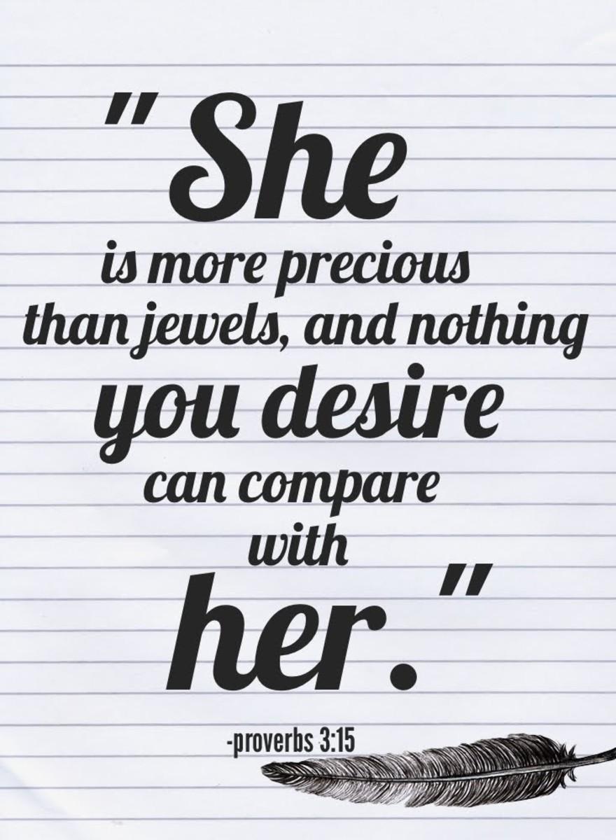 Proverbs 3:15