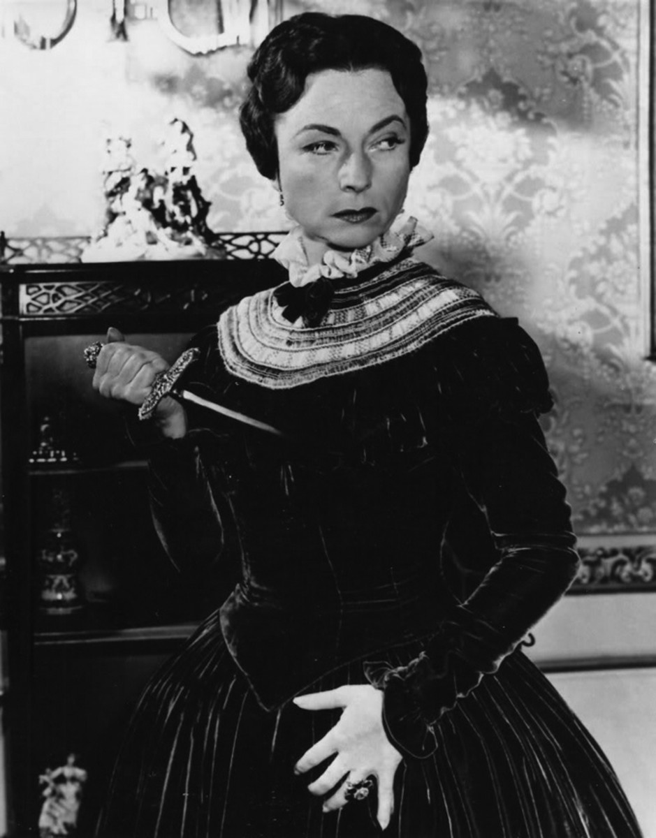 Agnes Moorehead - A fed up Countess