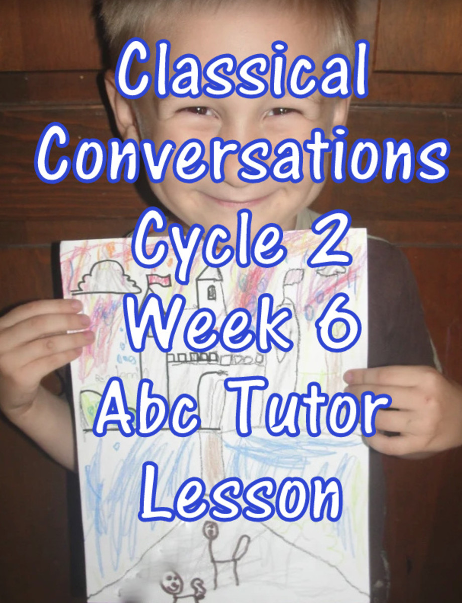 CC Classical Conversations Cycle 2 Week 6 Abc Tutor Lesson Plan