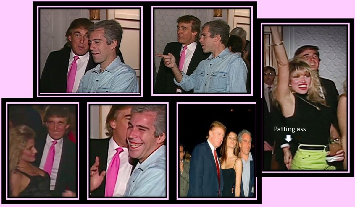 """Donald Trump called Jeffrey Epstein a """"terrific guy"""" and """"lots of fun to be with"""""""