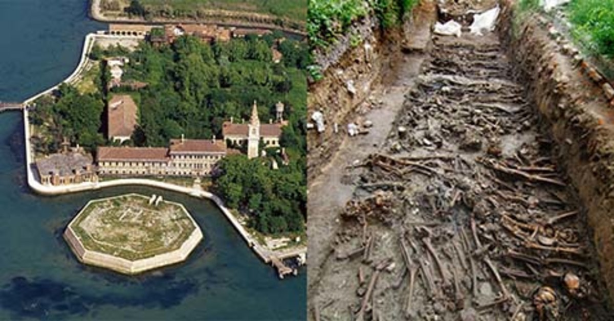 This island contain more than 100,000 buried dead.