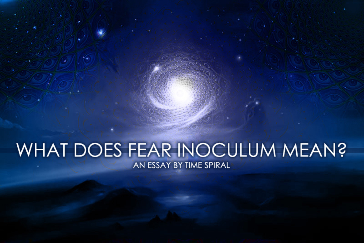 What Does Fear Inoculum Mean? A Tool Essay