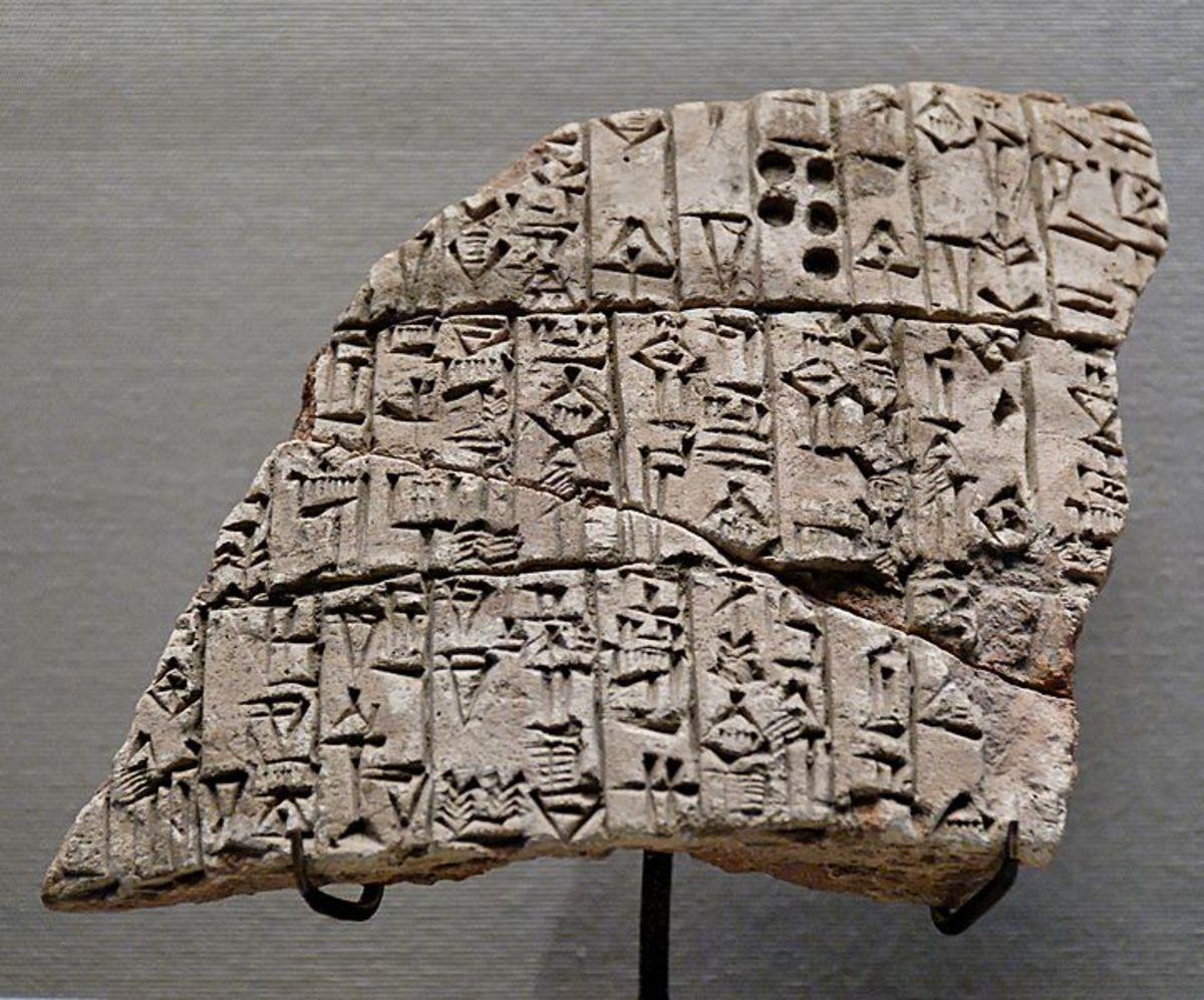 Cuniform tablet