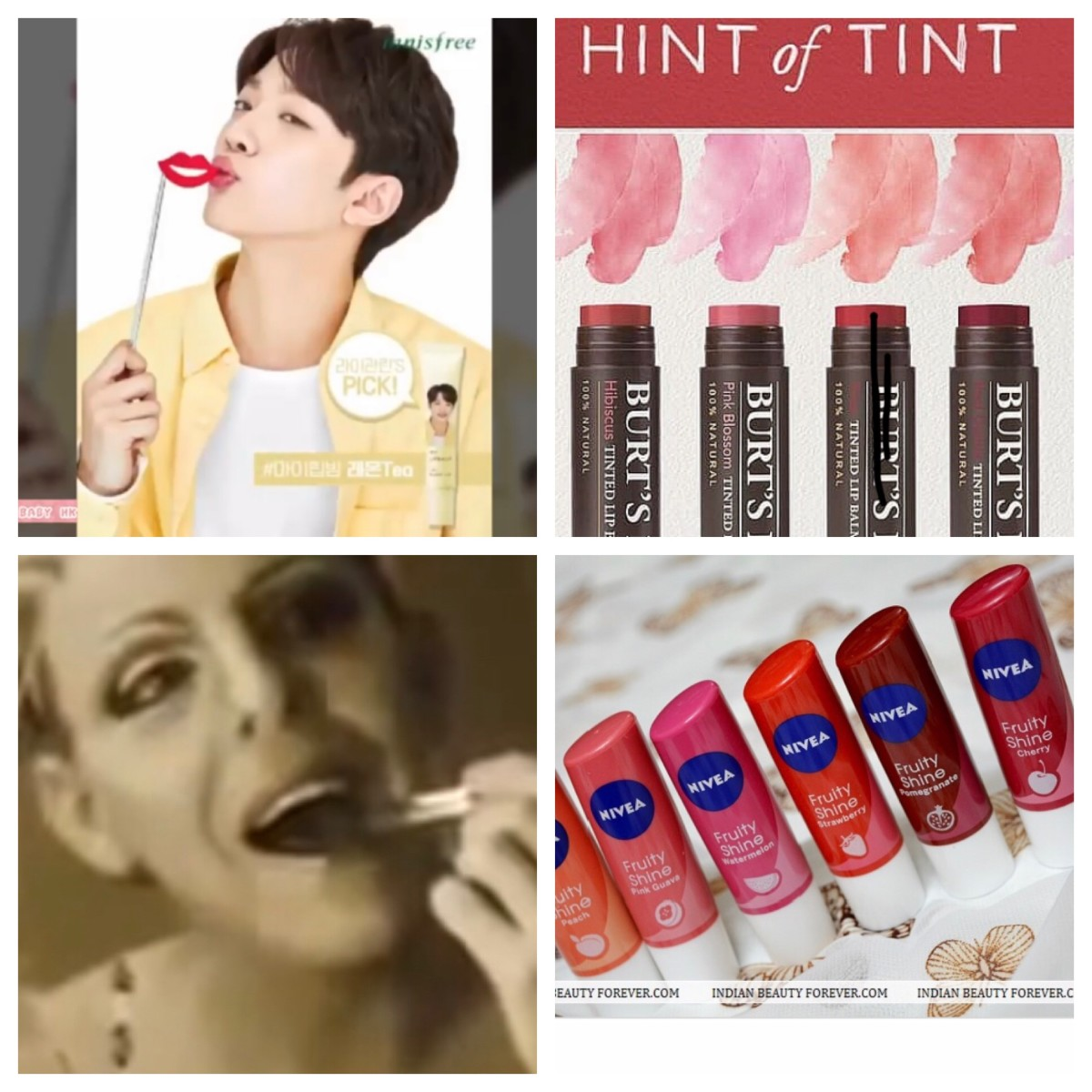 Tinted lip products are becoming increasingly popular with men, helped along by K-pop and availability as unisex items