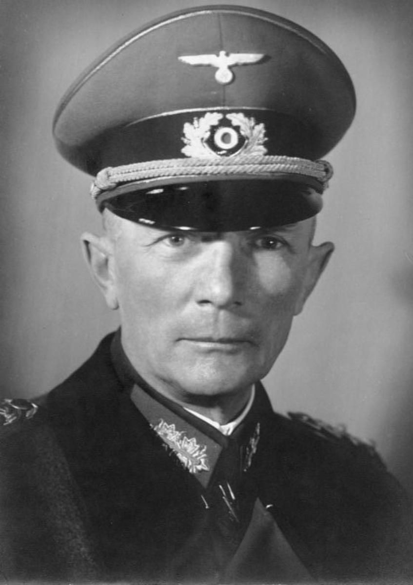 Franz Friedrich Fedor von Bock (3 December 1880 – 4 May 1945). Bock served as the commander of Army Group North during the Invasion of Poland in September 1939.