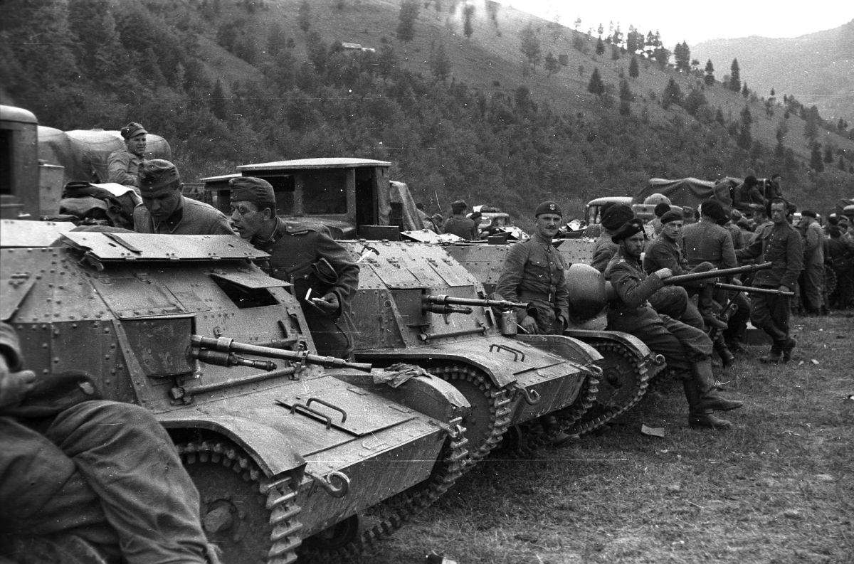Polish tanks in Hungary October 1939.