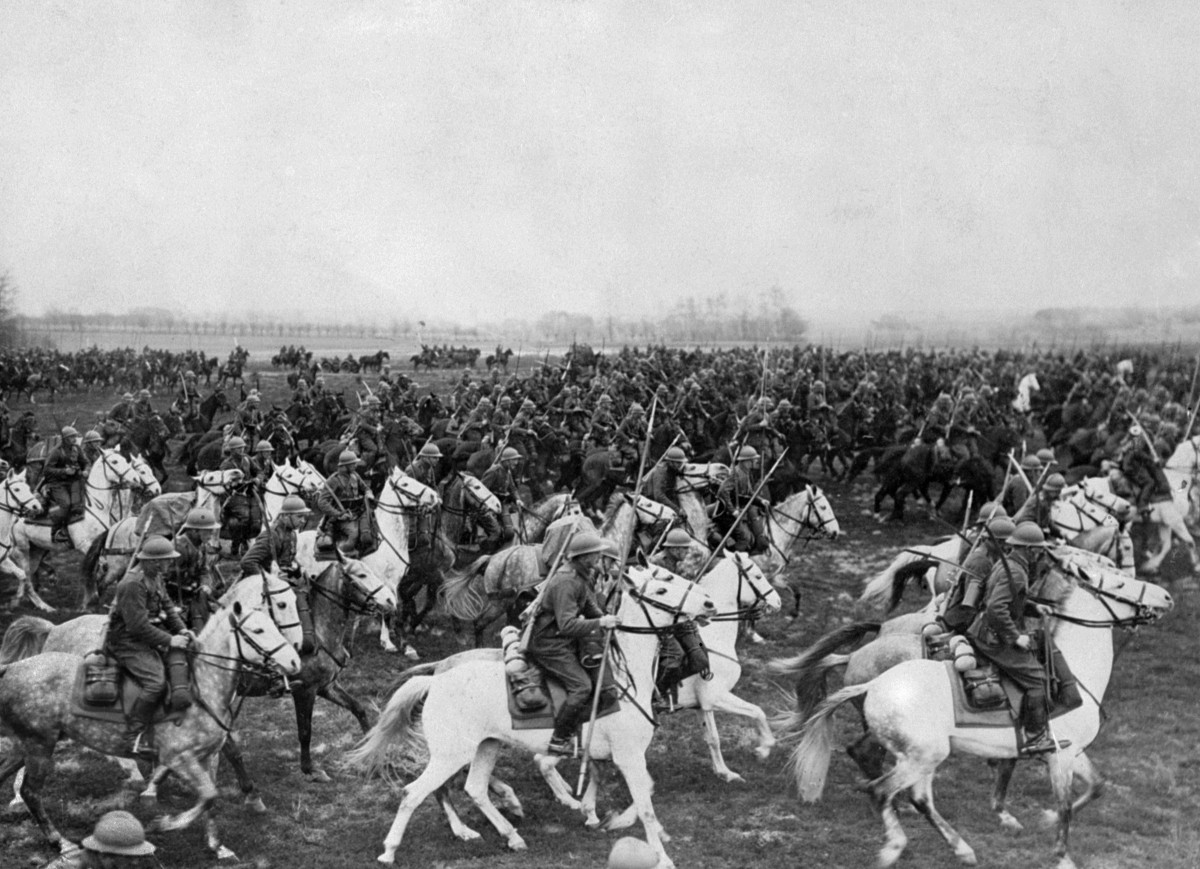 Polish cavalry would prove brave and reckless charging German tanks taking heavy casualties.