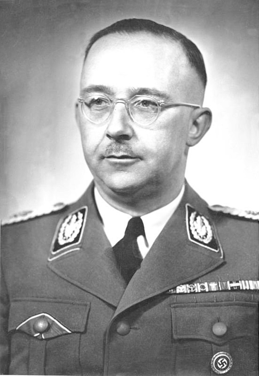 Heinrich Himmler was Reichsführer of the Schutzstaffel (Protection Squadron; SS), and a leading member of the Nazi Party of Germany. Himmler was one of the most powerful men in Nazi Germany and a the main architect of the Holocaust.
