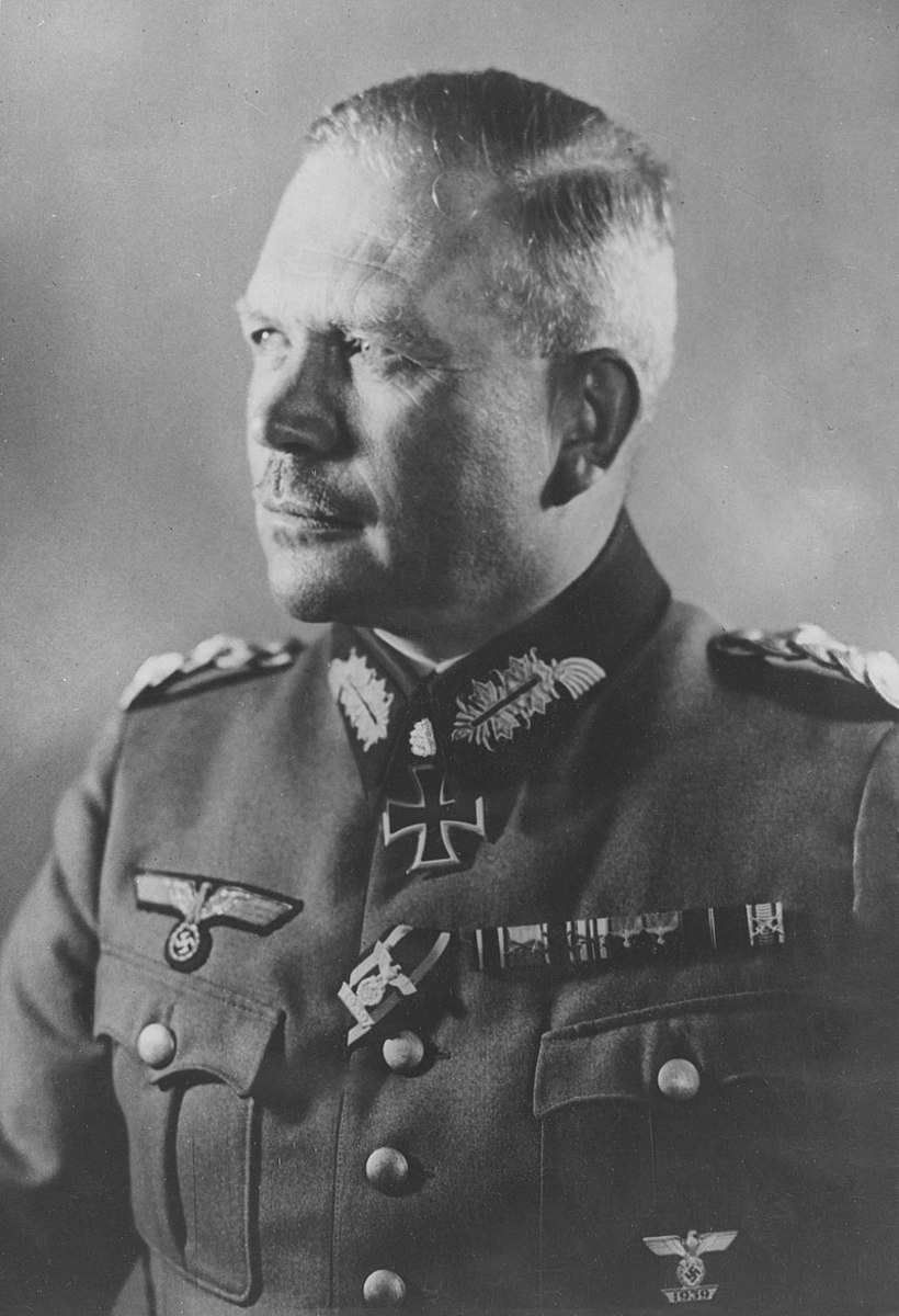 "Heinz Guderian an early pioneer and advocate of the ""Blitzkrieg"" doctrine, he  played a significant role in the development of the panzer division concept in the German army."
