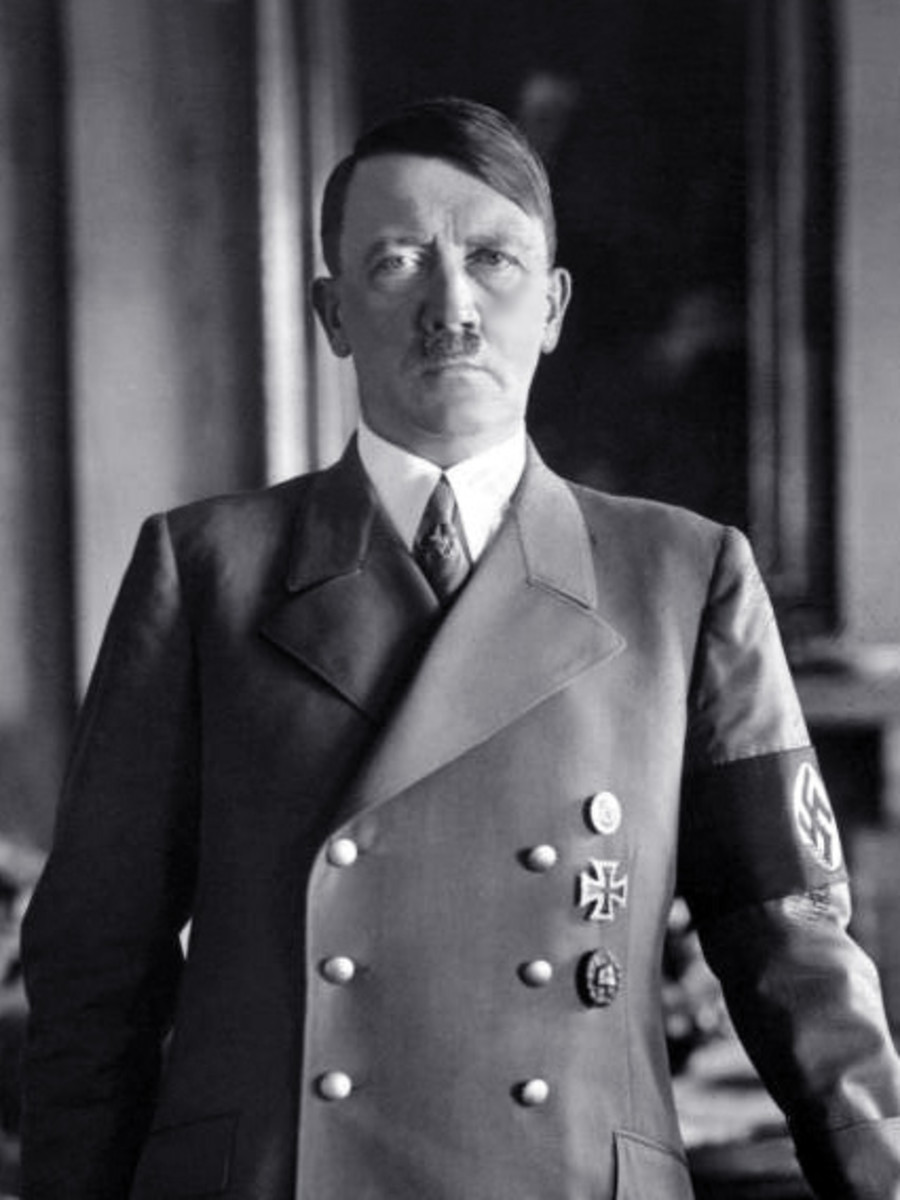 A confident Adolf Hitler in the 1930s at the height of his power. On January 30, 1933, Hitler becomes Chancellor of Germany. Soon afterward the Nazi party began to eliminate all political opposition and consolidate its power.
