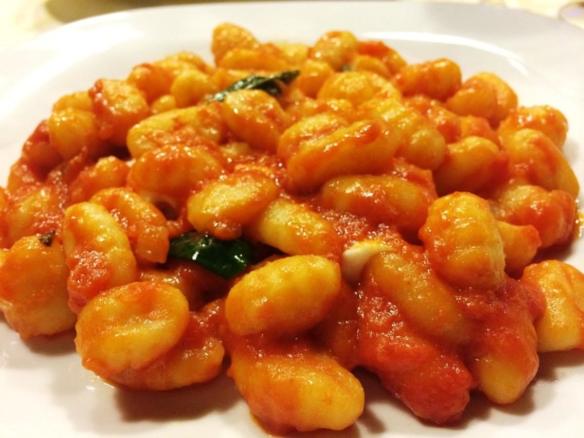 Gnocchi-- tiny, delicate potato dumplings