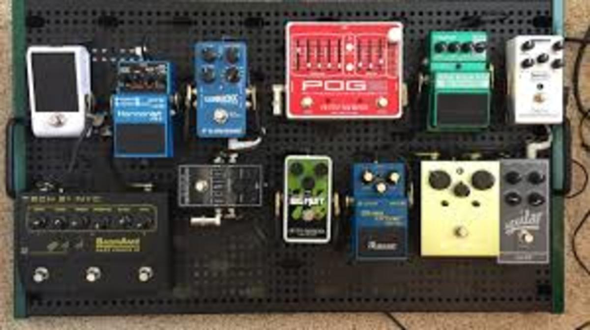 Setting up a Solid Bass Guitar Pedal Board