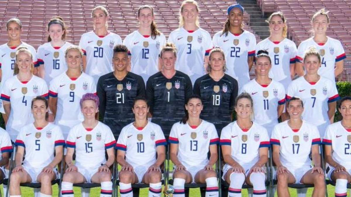 The New Roster For The USWNT
