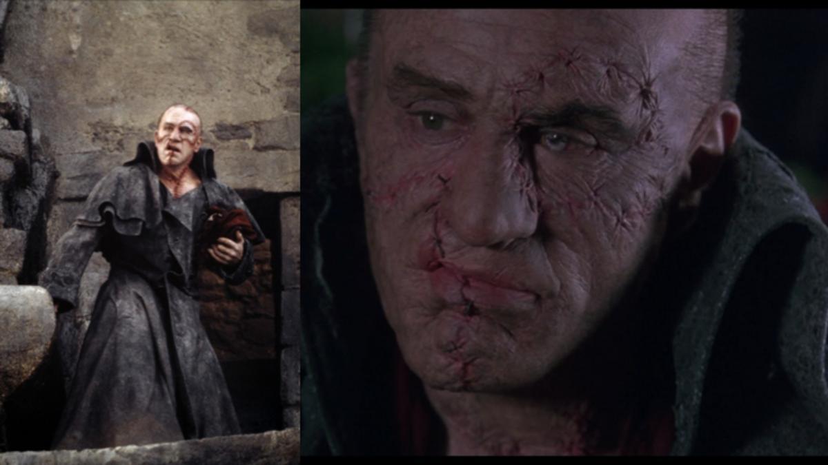 Robert De Niro as Frankenstein's Monster